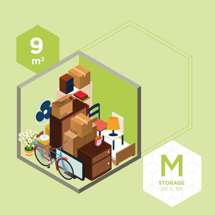 M Storage | 3M x 3M