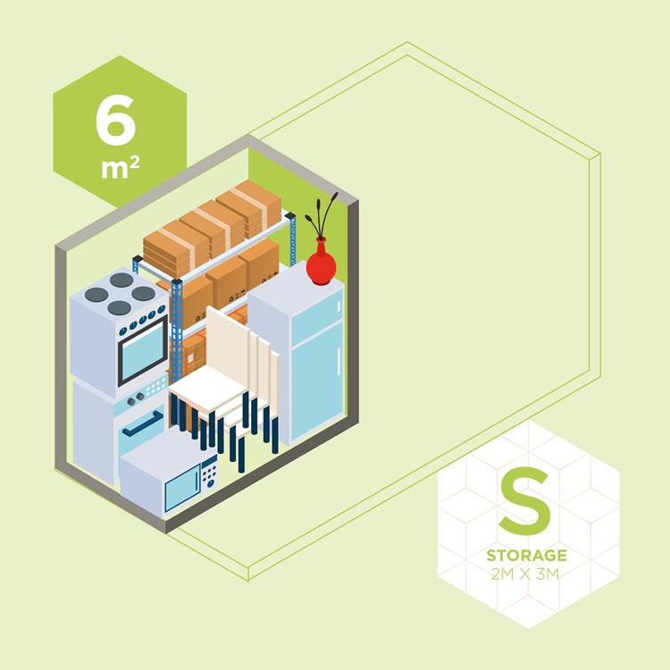 S Storage | 2M x 3M