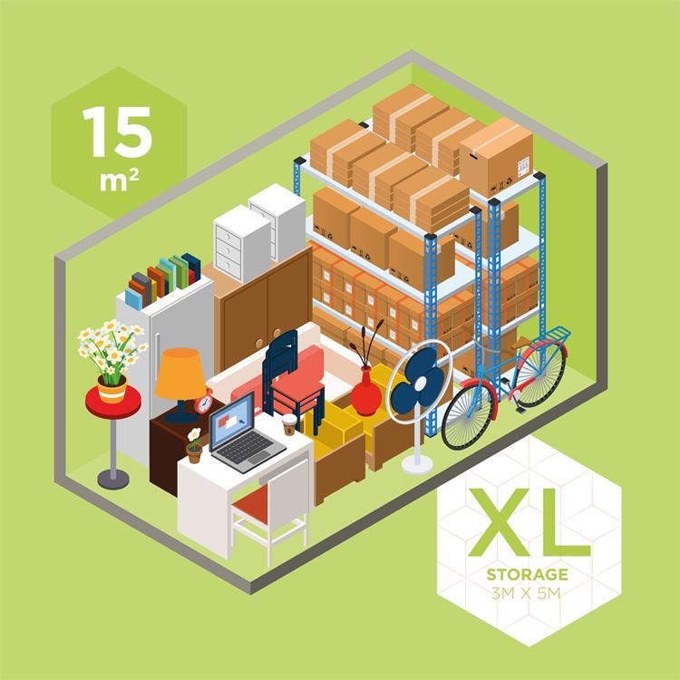 XL Storage | 3M x 5M